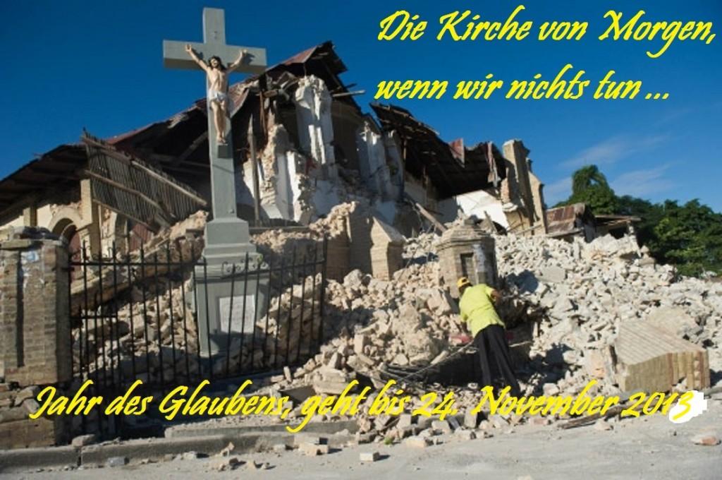 zerstoerte Kirche